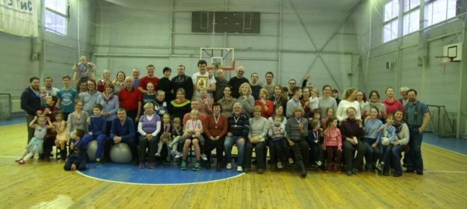 Зимний спортивный праздник участников семейных клубов трезвости состоялся в Тарасовке
