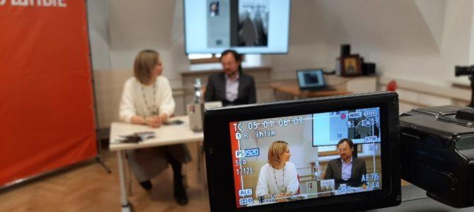 Презентация книги «Выход здесь» состоялась во время круглого стола в Коворкинг-центре НКО