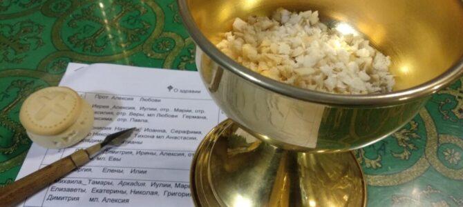 Руководитель КЦ ПАН СВ отслужил молебен на начало учебного года в Школе семейных клубов трезвости